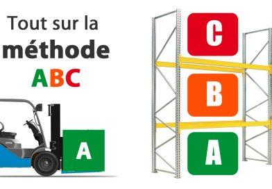 Méthode ABC rayonnage