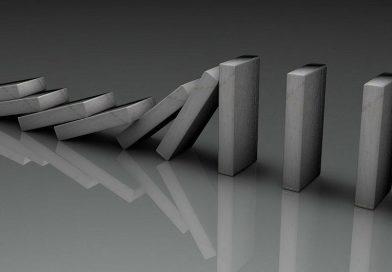 Domino qui tombe