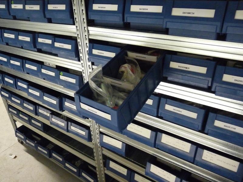 Rayonnage picking tiroir